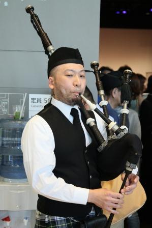 WT2015 バグパイプ演奏 小貫友寛氏