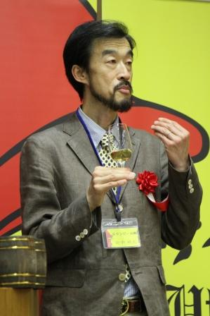 WT2015 キリンセミナー講師 田中城太氏