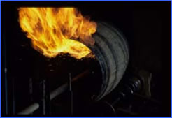 樽の火入れ