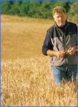 ジム・マッキュワン氏と大麦