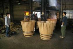 イチローズモルトセミナー 組み立てた樽