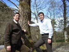 イチローズモルトセミナー スペインの森林組合長のベガさんと